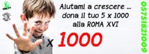 locandina 5 x mille